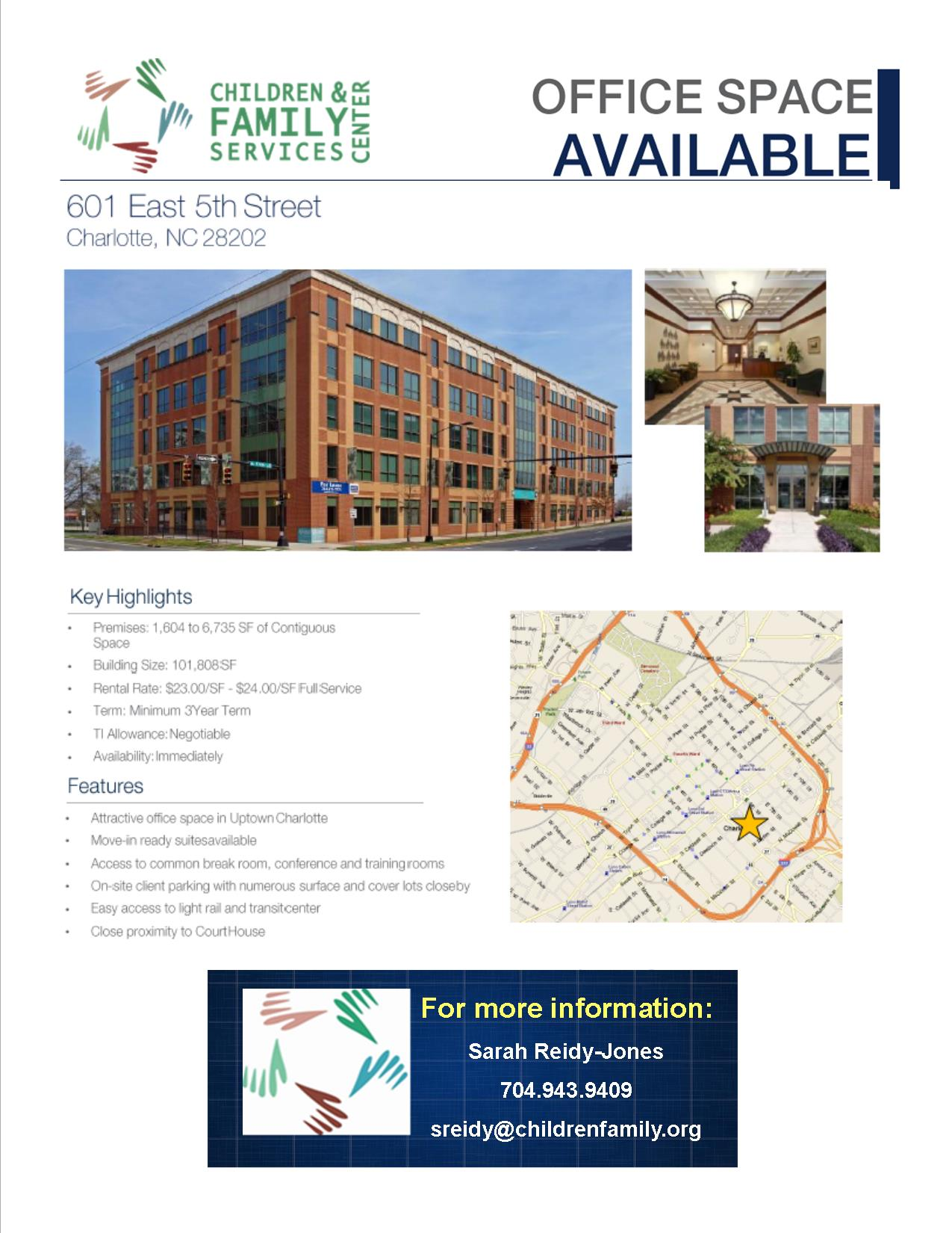 CFSC Market Tenant Flyer with Vacant Layouts Page 1